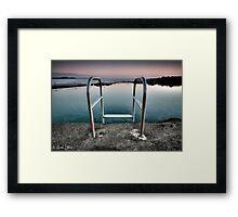Kiama Rock Pool Sunrise Framed Print