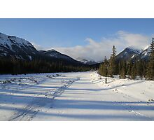 Snaring River , Jasper National Park  Photographic Print