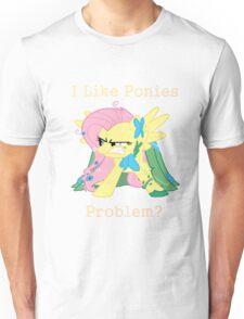Fluttershy Problem Unisex T-Shirt
