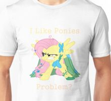 Fluttershy Problem Unisex T-Shirt