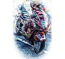 The Money Bike Photographic Print