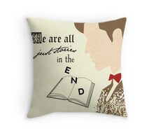 Eleventh Doctor  Throw Pillow