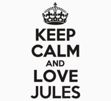 Keep Calm and Love JULES Kids Clothes