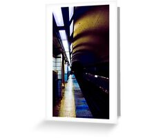 Chicago El Tunnel Greeting Card