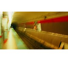 Warped El Tunnel Photographic Print