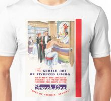Vintage poster - French Line Cruises Unisex T-Shirt