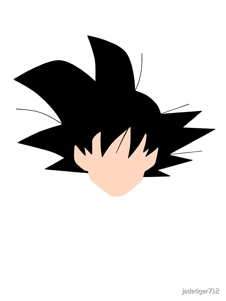 Minimalist Goku by Jessica Becker