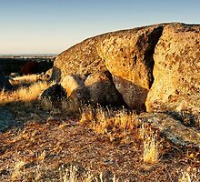 Late Afternoon at Dog Rocks - Batesford, Victoria, Australia by Sean Farrow