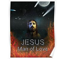 Jesus Man of Love Poster