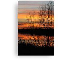 Struble Sunset Canvas Print