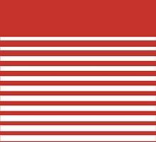 Kappa Alpha Psi Striped Case by jlynnart