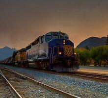 Rocky Mountaineer Sunrise by JamesA1
