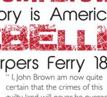 Black History Month: John Brown Sticker