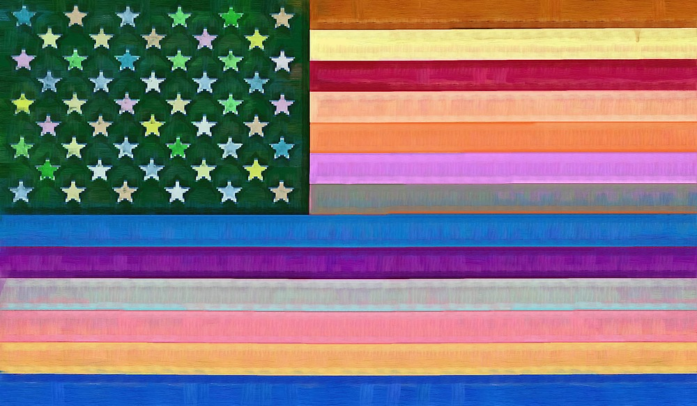 The Hippy Flag by Albert