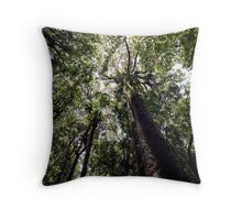Rainforest Giants Throw Pillow