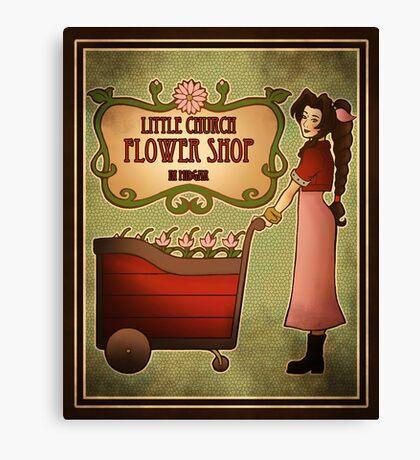 Midgar Flower Shop Canvas Print