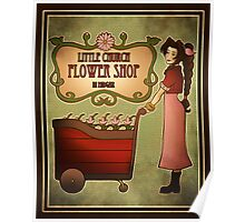 Midgar Flower Shop Poster