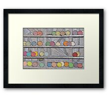 Balls of Yarn Framed Print