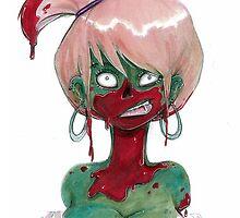 Zombie Gal by ArgyleWerewolf