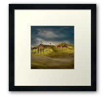 Inhospitable Planet 1 by Anne Winkler Framed Print