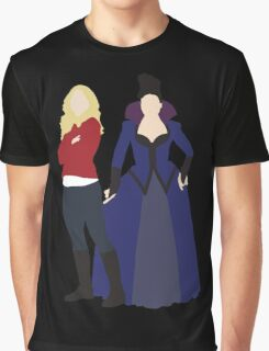 Swan Queen - Once Upon a Time Graphic T-Shirt