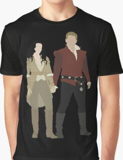Snow White and her Prince Charming Graphic T-Shirt