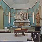 Mother of Pearl altar, Beagle Bay Catholic Church, Western Australia by Margaret  Hyde