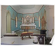 Mother of Pearl altar, Beagle Bay Catholic Church, Western Australia Poster