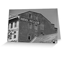 Montreal - Hotel Nelson Greeting Card