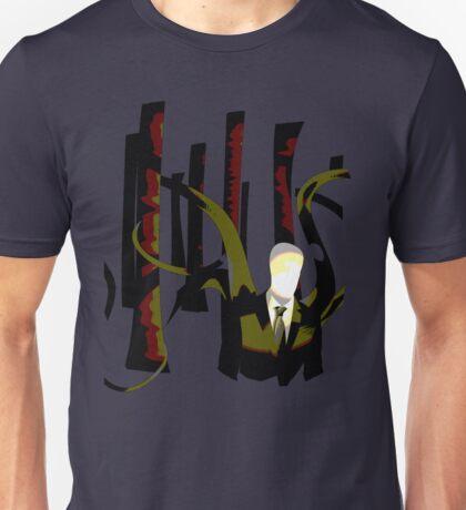 Slenderman in the Trees Unisex T-Shirt