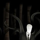Slenderman in the Trees (alt) by Sirkib