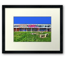 if you knew what's next, you'd never chase another dream again Framed Print
