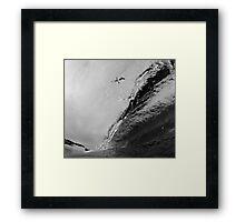 High Flying Barrel Framed Print