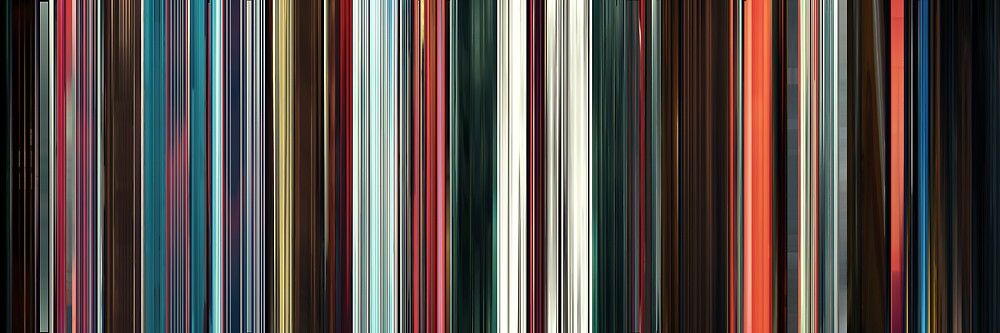 Moviebarcode: Beyond the Black Rainbow (2010) by moviebarcode