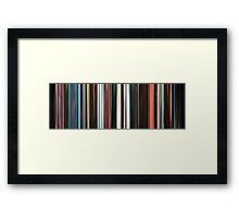 Moviebarcode: Beyond the Black Rainbow (2010) Framed Print