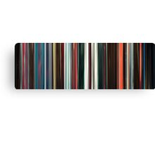 Moviebarcode: Beyond the Black Rainbow (2010) Canvas Print