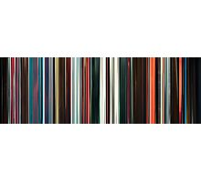 Moviebarcode: Beyond the Black Rainbow (2010) Photographic Print