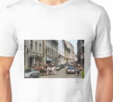 Old Montreal Traffic Jam Unisex T-Shirt