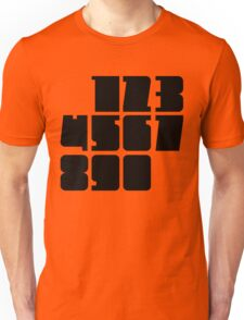 Deep and Wide: Numbers Unisex T-Shirt