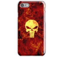 The Punisher Flame iPhone Case/Skin