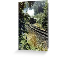Single Track Greeting Card