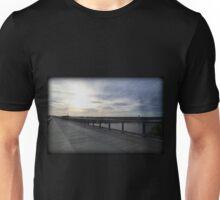 October Walkway Sunrise Unisex T-Shirt