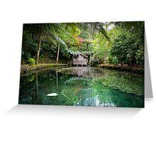 Alfred Nichols Gardens Mount Dandenong Greeting Card