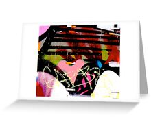 Graffiti heart - Graffiti - Street Art Greeting Card