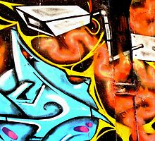 CCTV - Melbourne Graffiti - Street Art by NicNik Designs