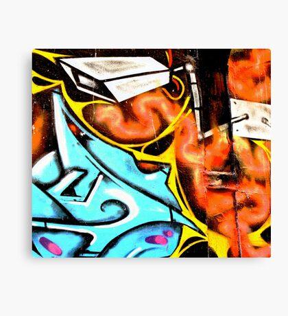 CCTV - Melbourne Graffiti - Street Art Canvas Print