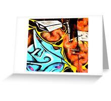 CCTV - Melbourne Graffiti - Street Art Greeting Card