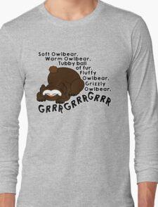 Soft Owlbear, Tubby Owlbear Long Sleeve T-Shirt