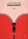 No167 My Boogie Nights minimal movie poster by Chungkong