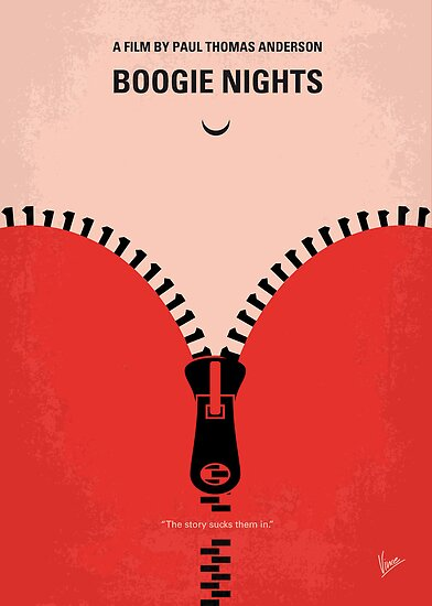 No167 My Boogie Nights minimal movie poster by Chungkong